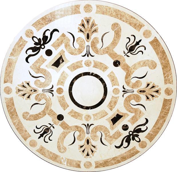 圓形拼花 - 編號:C5236