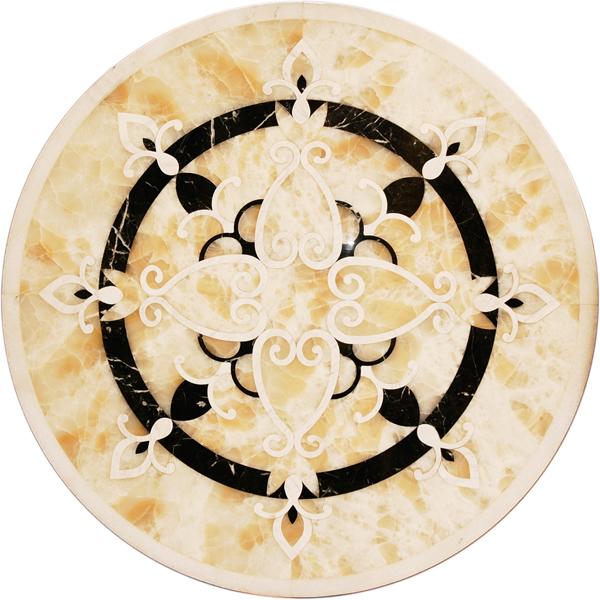 圓形拼花 - 編號:C5237