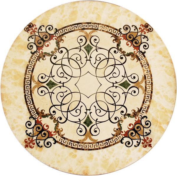 圓形拼花 - 編號:C5354