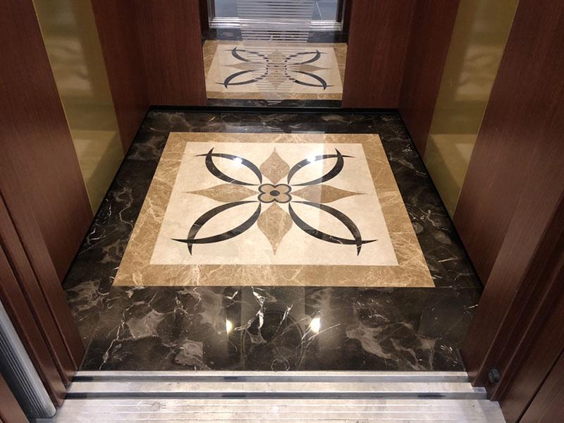 電梯車廂拼花